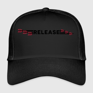 Release Arrows (Bogenschießen by BOWTIQUE) - Trucker Cap