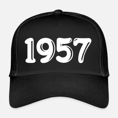 1957 Born in 1957 - Trucker Cap