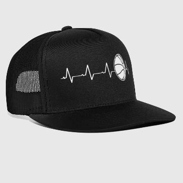 Basketball heart (I love basketball) - Trucker Cap