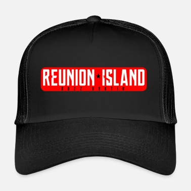 Réunion Collection REUNION * ISLAND - Trucker Cap