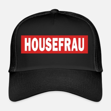 Techno Bass Housefrau - Electro Dance Music Techno - Gorra de camionero