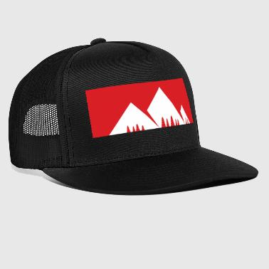 The mountain is calling - mountain, mountains - Trucker Cap