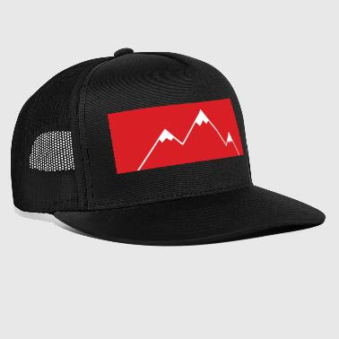 The mountain calls! - Mountains, mountains - Trucker Cap
