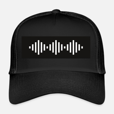 Wave Techno Wave - Eletro Wave - Trucker Cap