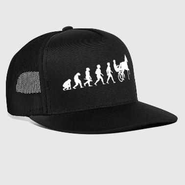 Evolution trot racing horse racing horses - Trucker Cap