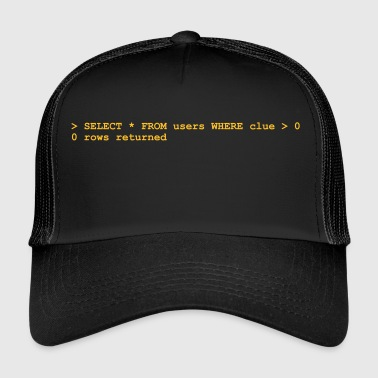 NERD HUMOR: Ignoranza! - Trucker Cap