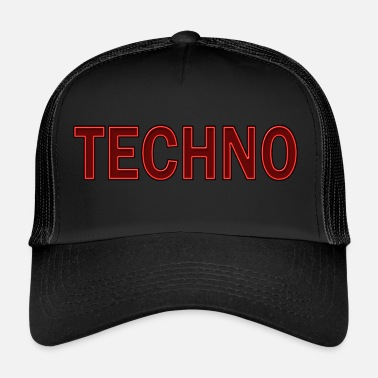 Techno Techno - Trucker Cap