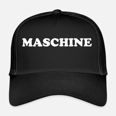 Machine MACHINE - Casquette trucker