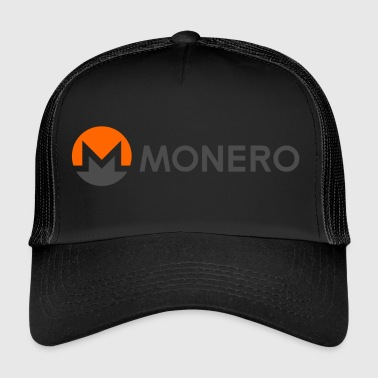 Monero Coin Logo 2 - Trucker Cap
