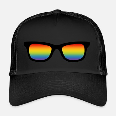 Lgbt LGBT gay pride arc-en-ciel gay est cool - Trucker Cap