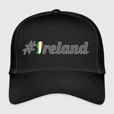 #Ireland - Trucker Cap
