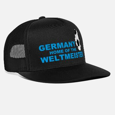 Ironi germany home of the weltmeister 2 - Trucker cap