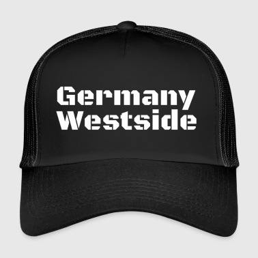 Westside Duitsland Westside West-Duitsland Gift Idea West - Trucker Cap