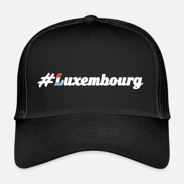 Luxembourg #Luxembourg - Trucker Cap