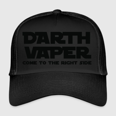 Vape Darth Vaper vektor - Trucker Cap