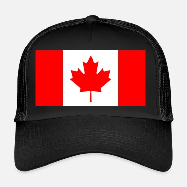Canadiske Flag Canada - Trucker Cap