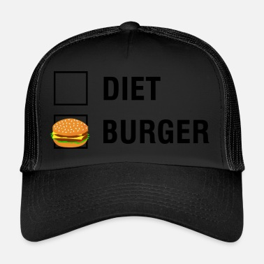 Diät Burger VS Diät Food Lover - Trucker Cap