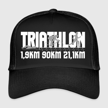 Triathlon Distanz - Trucker Cap
