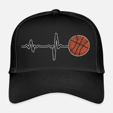 Frikast Gave Heartbeat Basketball - Trucker cap