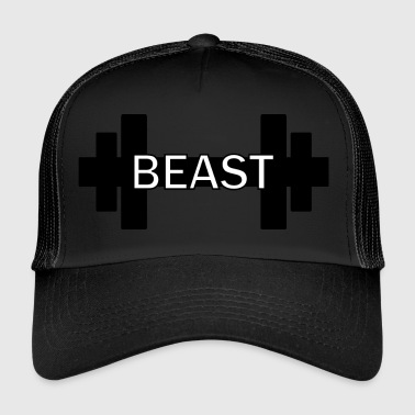 Hantel Beast Fitness Gym Gainz - Trucker Cap