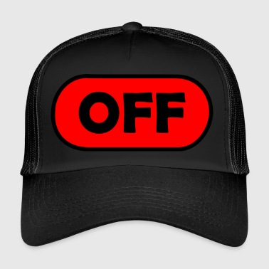 off / aus - Trucker Cap