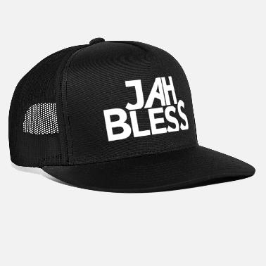 Bless You Jah Bless God bless you God bless you Israelites - Trucker Cap