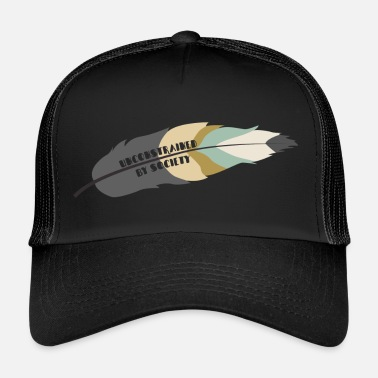 Society Hippie / Hippies: Unconstrained Par Society - Trucker Cap