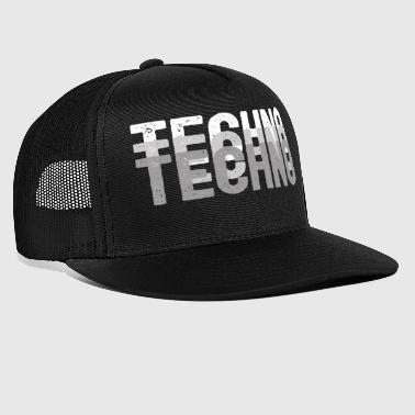 Techno | Electro Music Rave - Trucker Cap