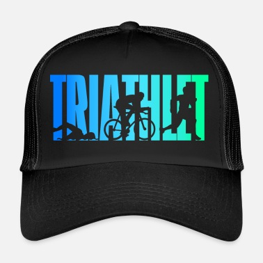 Triathlon Triathlete - colorato - Triathlon - Trucker Cap