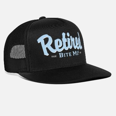 Pension Pensioneret Bite Me! - Trucker cap