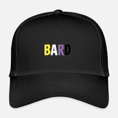 Binary Bard Pride (Non Binary) - Trucker Cap