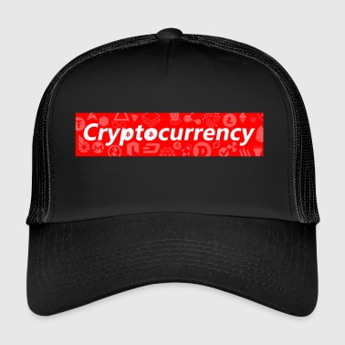 Cryptocurrency - Crypto Valuutta Logo Design - Trucker Cap