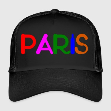 Paris PARIS - Trucker Cap