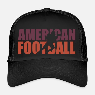 College Football American Football Rugby Tackle College - Trucker Cap