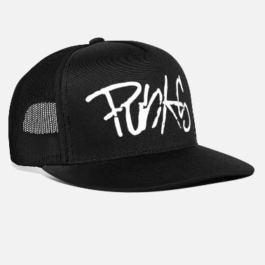 Punk white - Trucker Cap