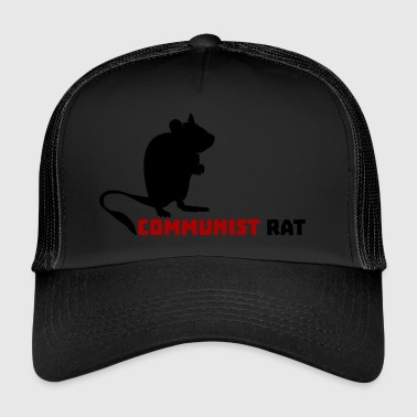 Communist Rat - Trucker Cap