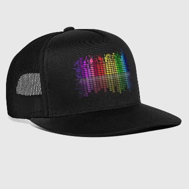 Scatter equalizer - Trucker Cap