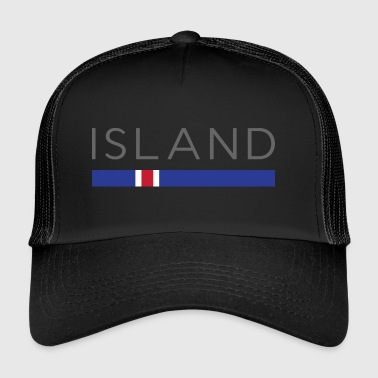 ICELAND DESIGN - Icelandic Football World Cup gift - Trucker Cap