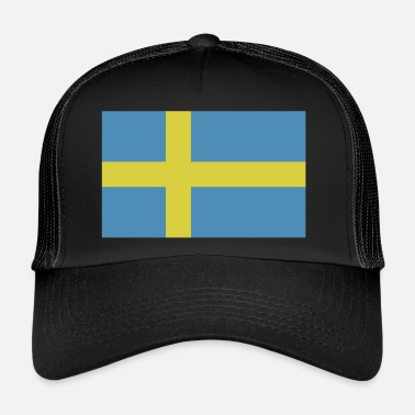 Swedish Swedish flag - Trucker Cap