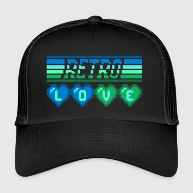 I Love Retro retro LOVE - Trucker Cap