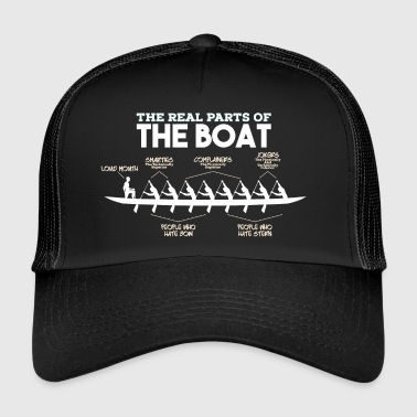 Steuermann Parts of a Boat - Rudern Rowing Ruderer Kanu Boot - Trucker Cap