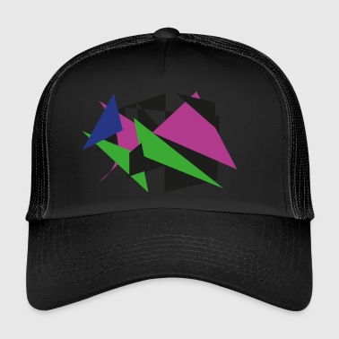 Art Abstrait Art abstrait - Trucker Cap