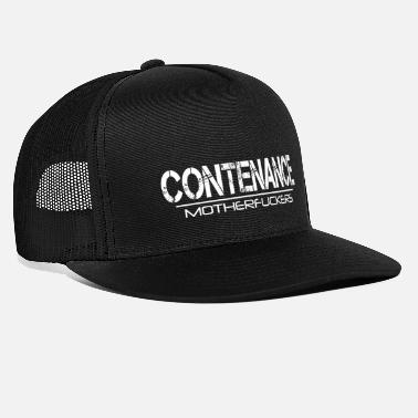 Contenance Contenance Motherfuckers [wit] - Trucker cap