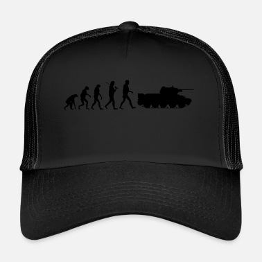World Evolutie Zwart - Trucker Cap