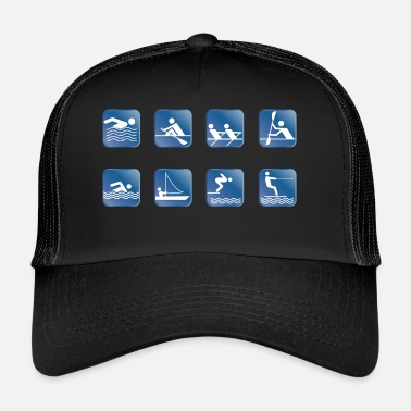 Water Skiing water skiing water skiing - Trucker Cap