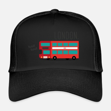 Bus Driver The Red London Bus - Trucker Cap