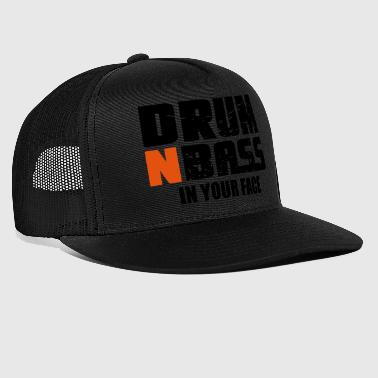 Drum and Bass Techno DJ Party Musique cadeau - Trucker Cap