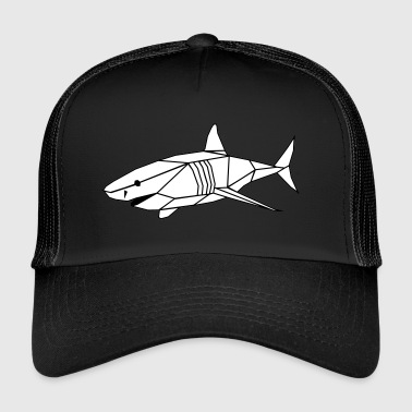 Polygone shark - Trucker Cap
