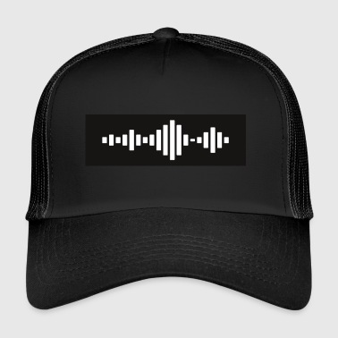 Techno Wave Equalizer - Trucker Cap