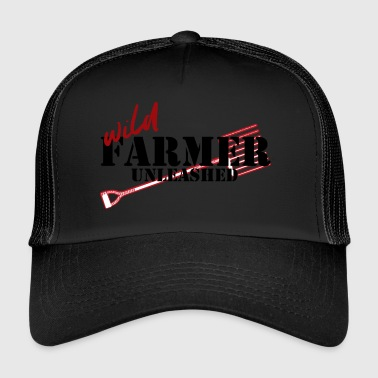 Bauer Farmer / Landwirt / Bauer: Wild Farmer Unleashed - Trucker Cap